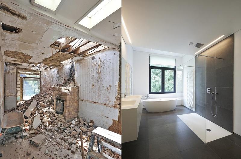 Affordable bathroom renovations
