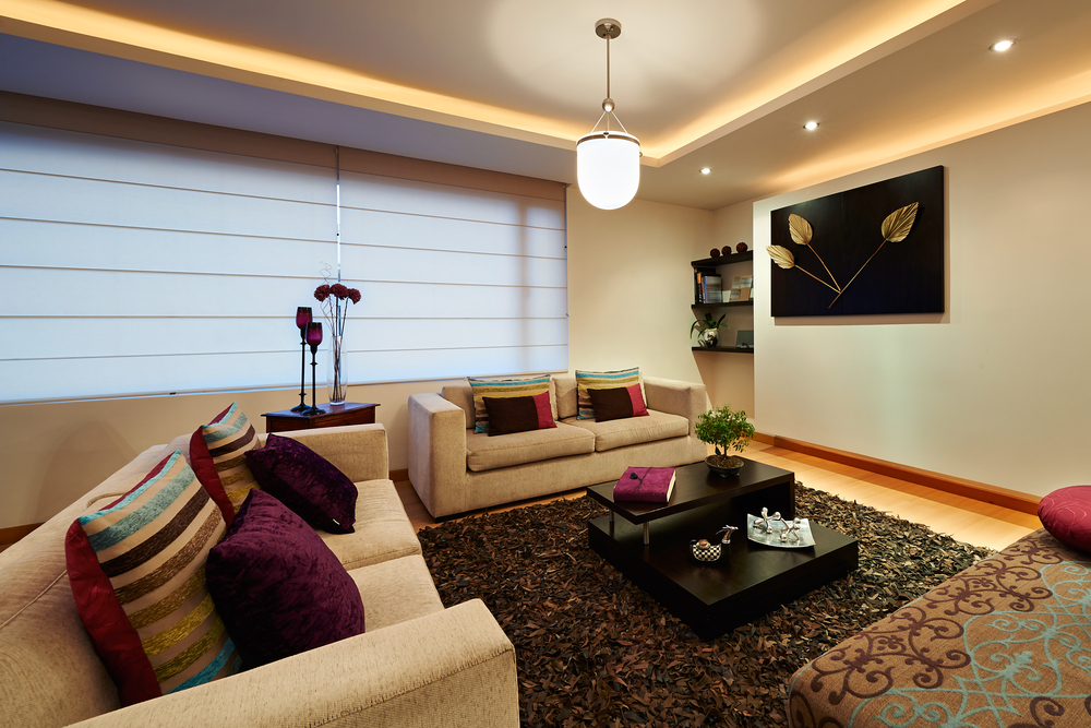 How Block out Blinds Help a Lot in Remodelling Your Living Room?