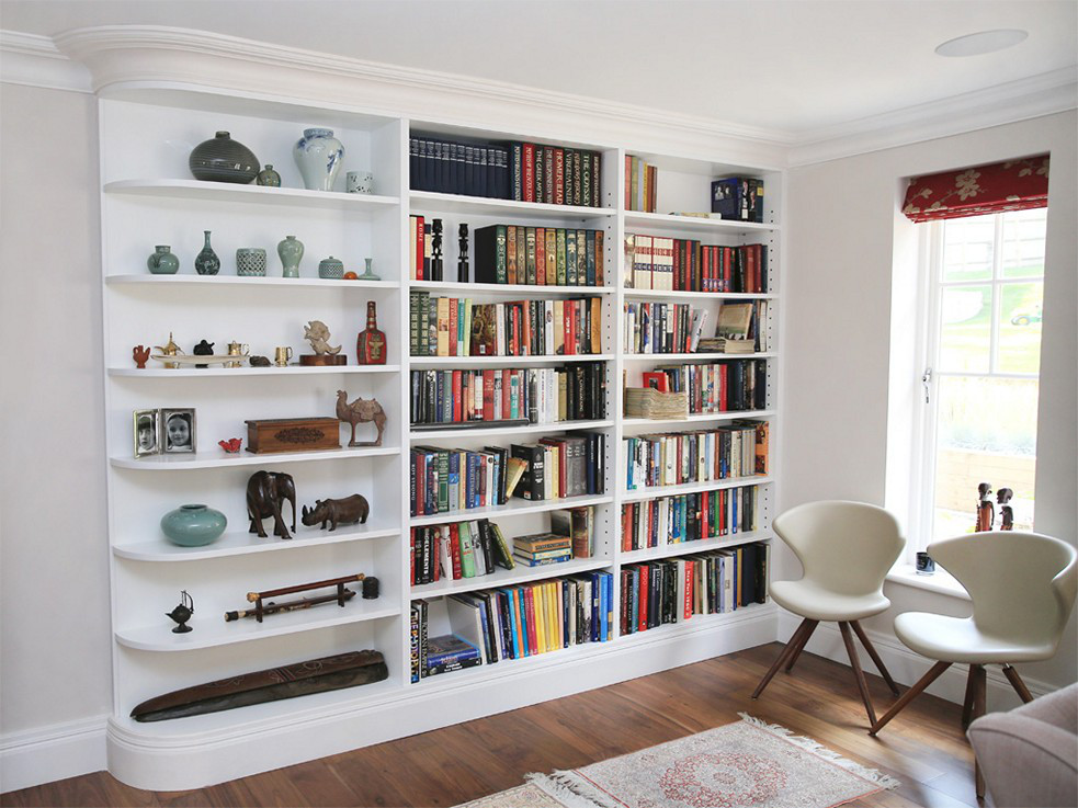 Creative Ways to Adjust Home Library into A Small Space