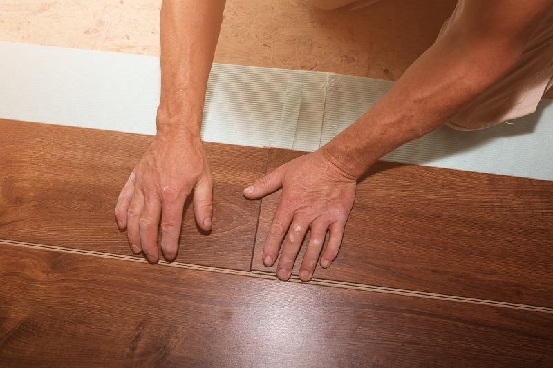 wooden engineered flooring