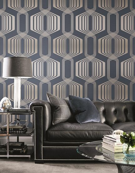 The Rules of Combining Wallpapers and Fabrics for Home Interiors